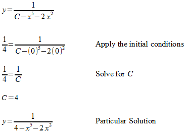 Separable Equations
